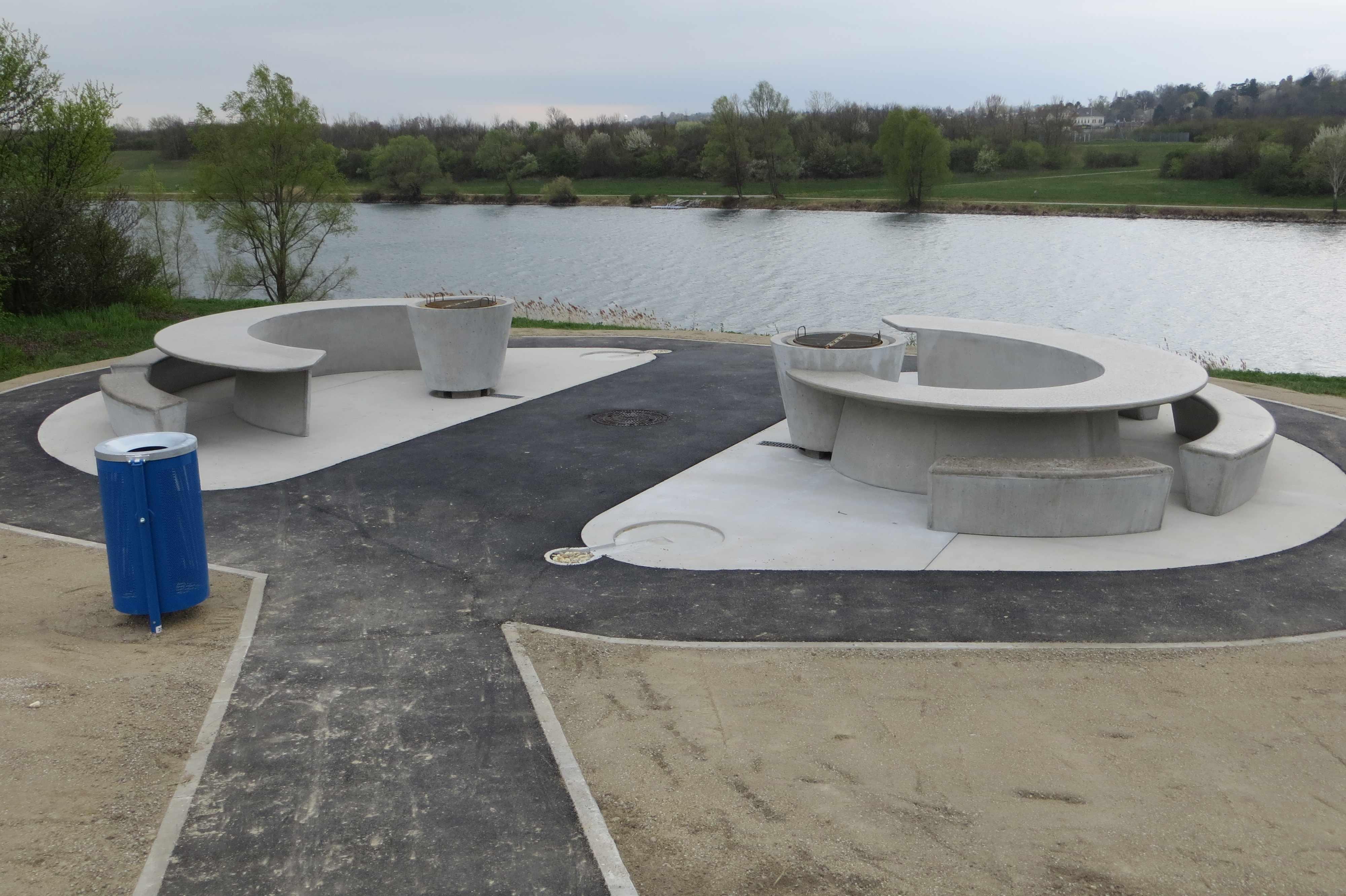 überdimensionale Luxusgrillplätze Auf Der Donauinsel Freiheitliche